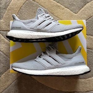 Men's Adidas Ultraboost 4.0 Grey size 10